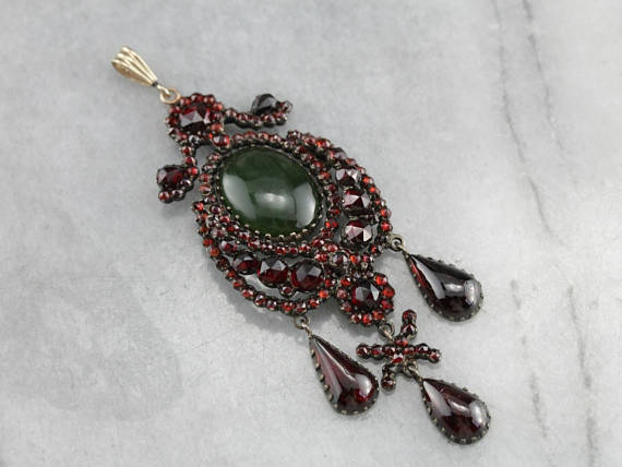 antique-bohemian-czech-garnet-pendant