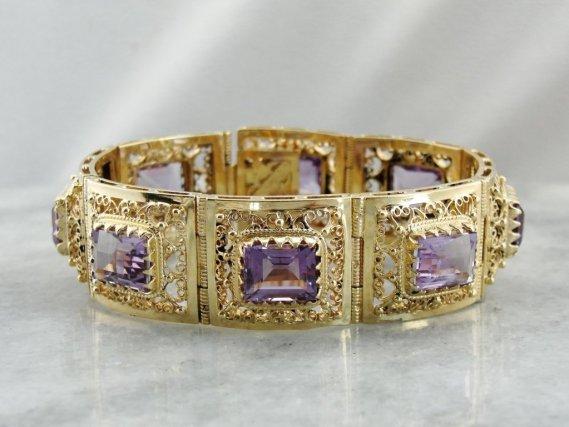 amethyst-gold-bangle-bracelet