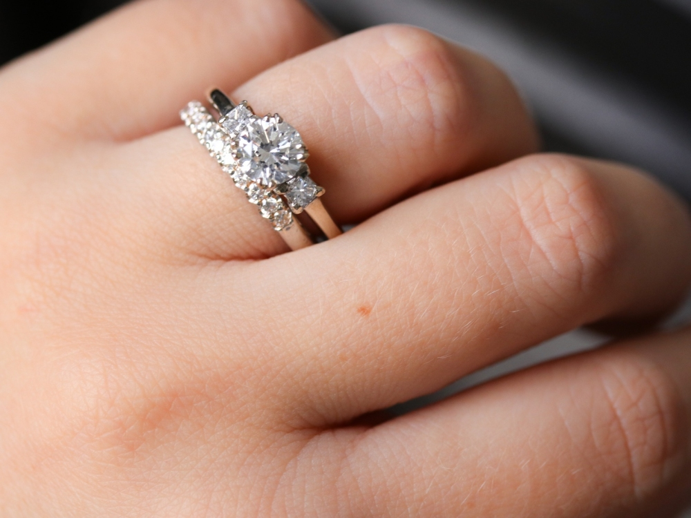 diamond engagement ring superstitions